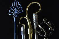 Декоративные наконечники для кованых карнизов серия 16мм
