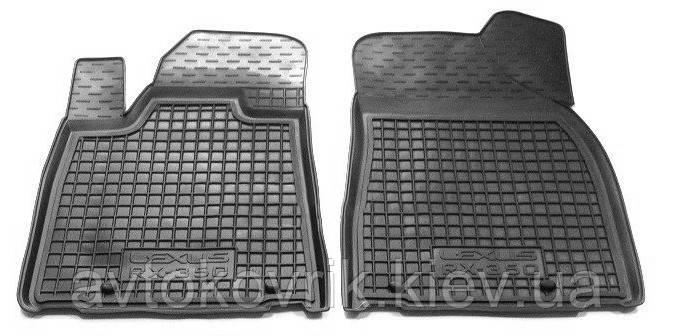 Полиуретановые передние коврики в салон Lexus RX 350 2009-2015 (AVTO-GUMM)