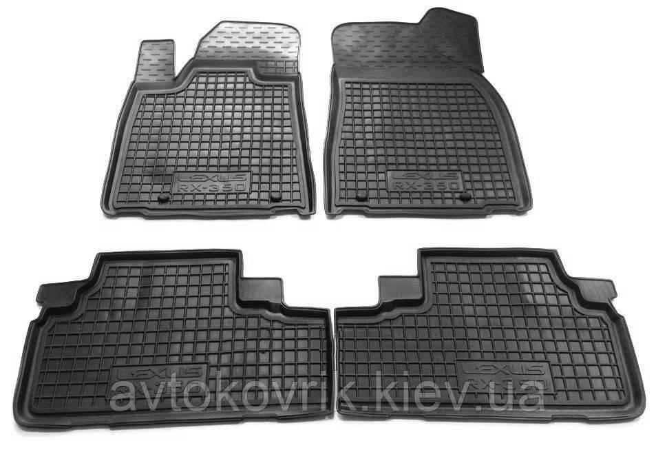 Полиуретановые коврики в салон Lexus RX 350 2009-2015 (AVTO-GUMM)