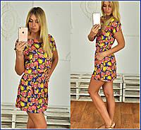 Красивое платье-туника, два вида