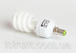 Лампа энергосберегающая 7Вт Е27 4200К (Евросвет)