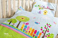 Постільна білизна в ліжечко Bird Garden