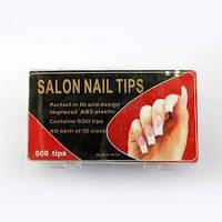 Типсы для наращивания ногтей  Salon  500 шт.