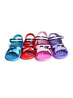 Детские шлепанцы - босоножки для девочек оптом от фирмы Sanlin F-158 (24-29)
