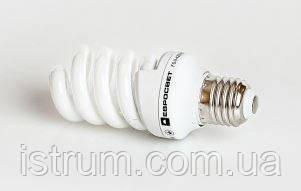 Лампа энергосберегающая 9Вт Е27 2700К (Евросвет)
