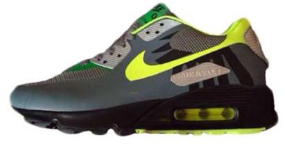 Мужские кроссовки Nike Air Max 90 Hyperfuse Yellow/Black, Найк Аир Макс 90