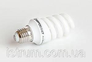 Лампа энергосберегающая 11Вт Е27 4200К (Евросвет)