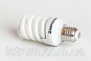 Лампа энергосберегающая 13Вт Е27 4200К (Евросвет)