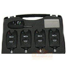 Набор сигнализаторов клева K-KARP DRAKE-BITE ALARM 4+1 Trabucco