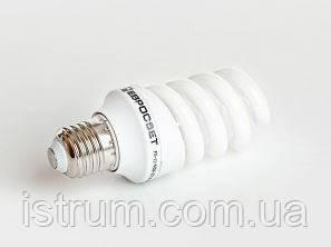 Лампа энергосберегающая 20Вт Е27 4200К (Евросвет)