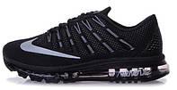 Мужские кроссовки Nike Air Max 2016 Black, найк, аир макс