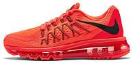 Мужские кроссовки Nike Air Max 2015 красные, найк, аир макс