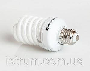 Лампа энергосберегающая 25Вт Е27 4200К (Евросвет)