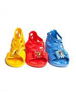 Детские шлепанцы - босоножки для девочек оптом от фирмы Sanlin F-160 (24-29)
