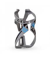 Флягодержатель EXUSTAR BL503 Nylon + стекловолокно, серый CGE-57-05
