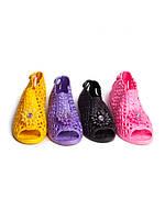 Детские шлепанцы - босоножки для девочек оптом от фирмы Sanlin F-162 (24-29)