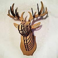 """Охотничий трофей """"Голова оленя"""", вер.1, малый"""