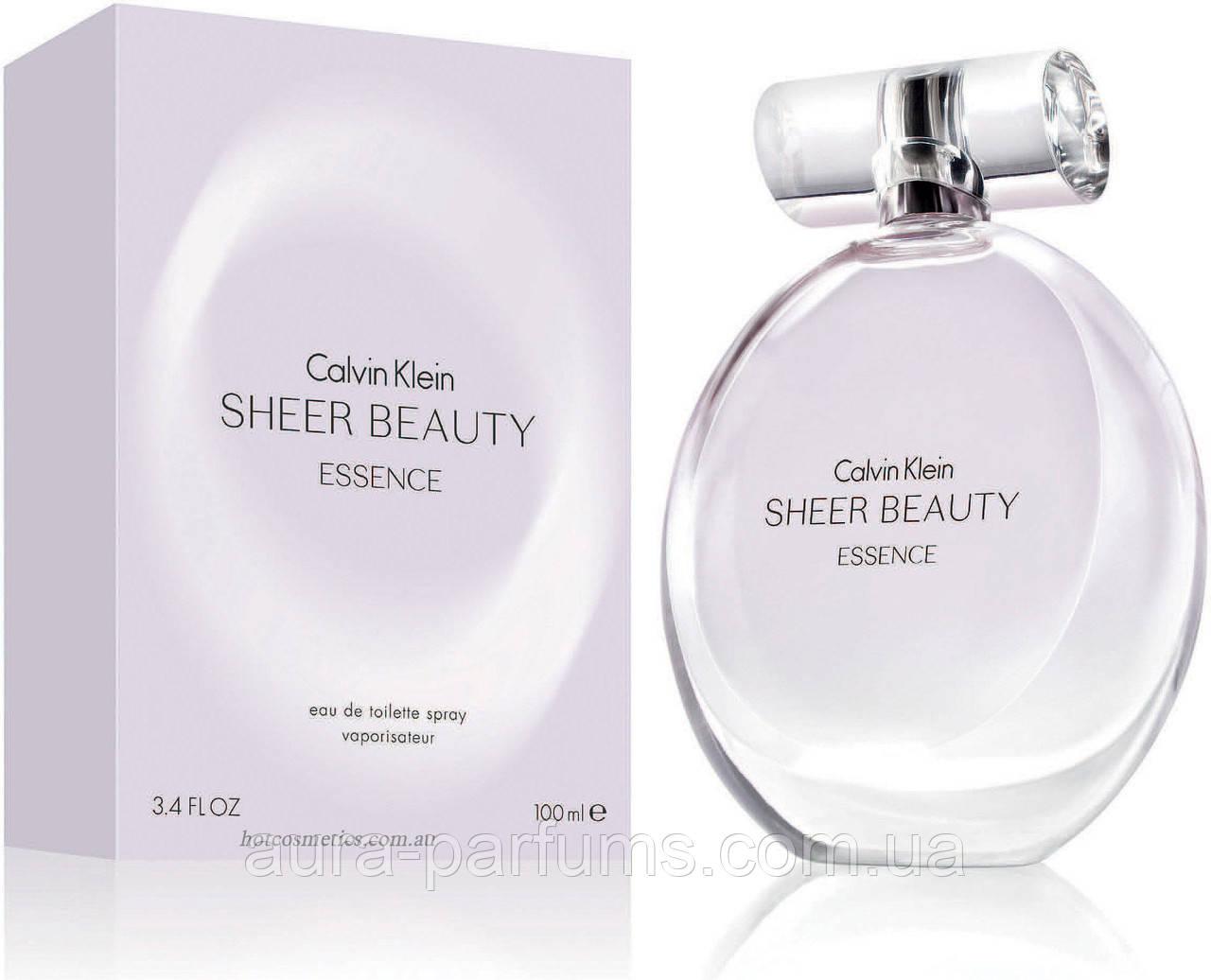 Calvin Klein Sheer Beauty Essence  edt 100 ml. w  оригинал