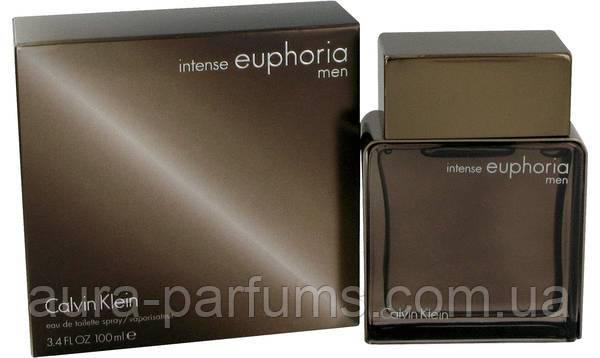 Calvin Klein Euphoria Intense For Men edt 100 ml. мужской оригинал