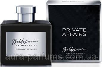 Hugo Boss  Baldessarini Private Affairs edt 50 ml. m оригинал
