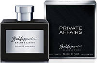 Hugo Boss  Baldessarini Private Affairs edt 50 ml. m оригинал