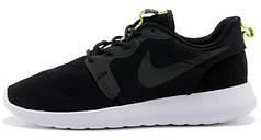 Мужские кроссовки Nike Roshe Run Dark Grey/White, найк роше ран