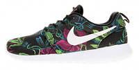 Мужские кроссвки Nike Roshe Run Smoky Lotus Floral Print, найк, роше ран