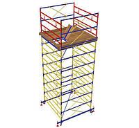 Вышка-тура Атлант 2,0х2,0м, комплект (3+1), рабочая высота 6,2м
