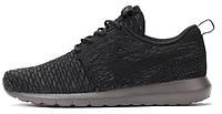 Мужские кроссовки Nike Roshe Run Black Textures, найк роше ран