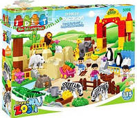 Конструктор Зоопарк  JDLT 5096  115 деталей