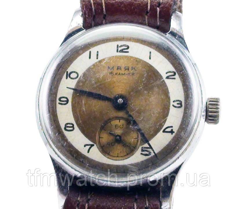Маяк механические часы СССР