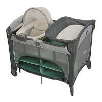 Детская кровать - манеж Graco с колыбелью DLX. Manor