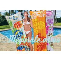 Надувной пляжный матрас Intex , 3 цвета: 183х69см (Intex 59720)