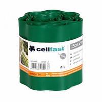 Газонный бордюр Cellfast 15 см x 9 м Темно-зеленый