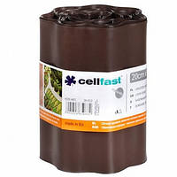 Газонный бордюр Cellfast 20 см x 9 м Коричневый