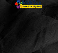 Лен белорусский рубашечный черный
