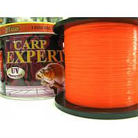 Леска Carp Expert Fluo Orange 1000 m 0.30