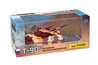 Сборная модель Zvezda (1:72) Российский ракетно-пушечный танк Т-90С