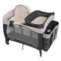 Детская кровать - манеж Graco с переносной колыбелью Napper Elite