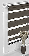 Рулонные шторы 58*160см Коричневый Vidella Zebra