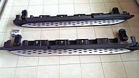 Пороги боковые на Mercedes ML-Class W166