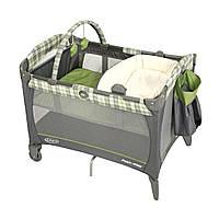 Детский манеж-кровать Graco Napper and Changer цвет Roman