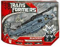 Эксклюзив! Робот-трансформер вертолет Блэкаут - Blackout, TF1, Voyager, Hasbro, фото 1
