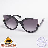 Солнцезащитные очки черные - 1519