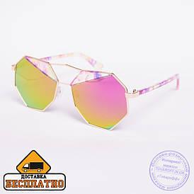 Солнцезащитные очки - розовые - 808