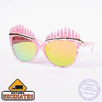 Солнцезащитные очки - розовые - 1532
