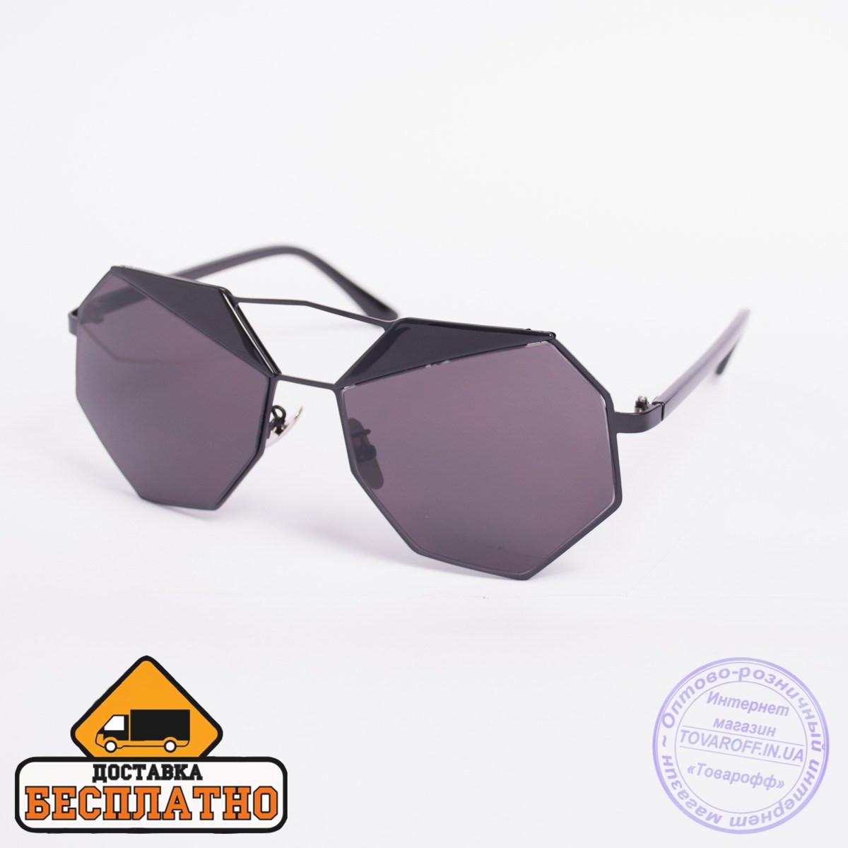 Солнцезащитные очки черные - 5896