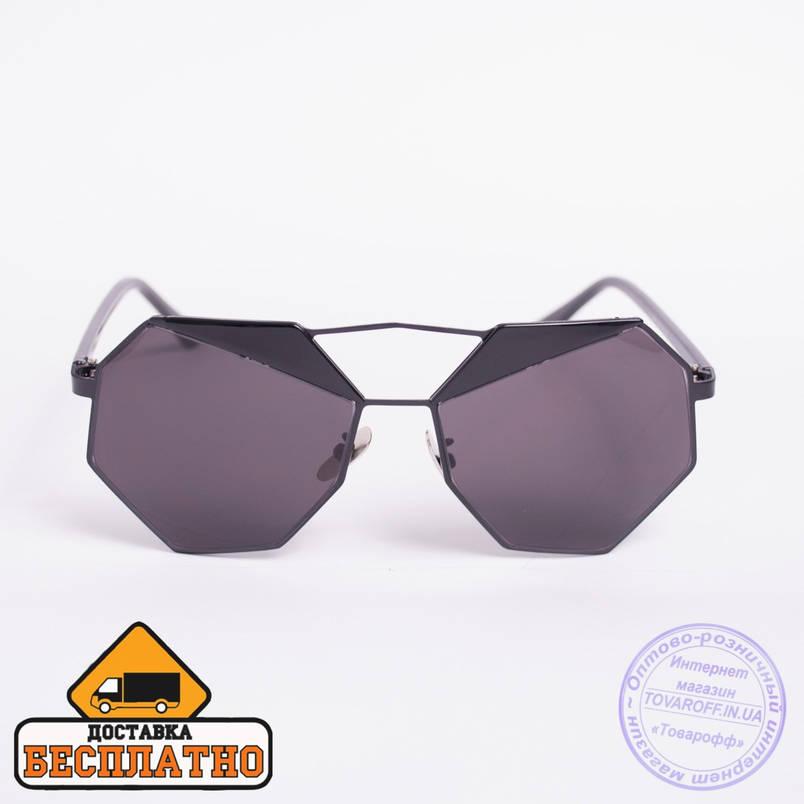 Солнцезащитные очки черные - 5896, фото 2