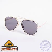 Солнцезащитные очки авиатор золотистые - 2882 090ce3c6267ac