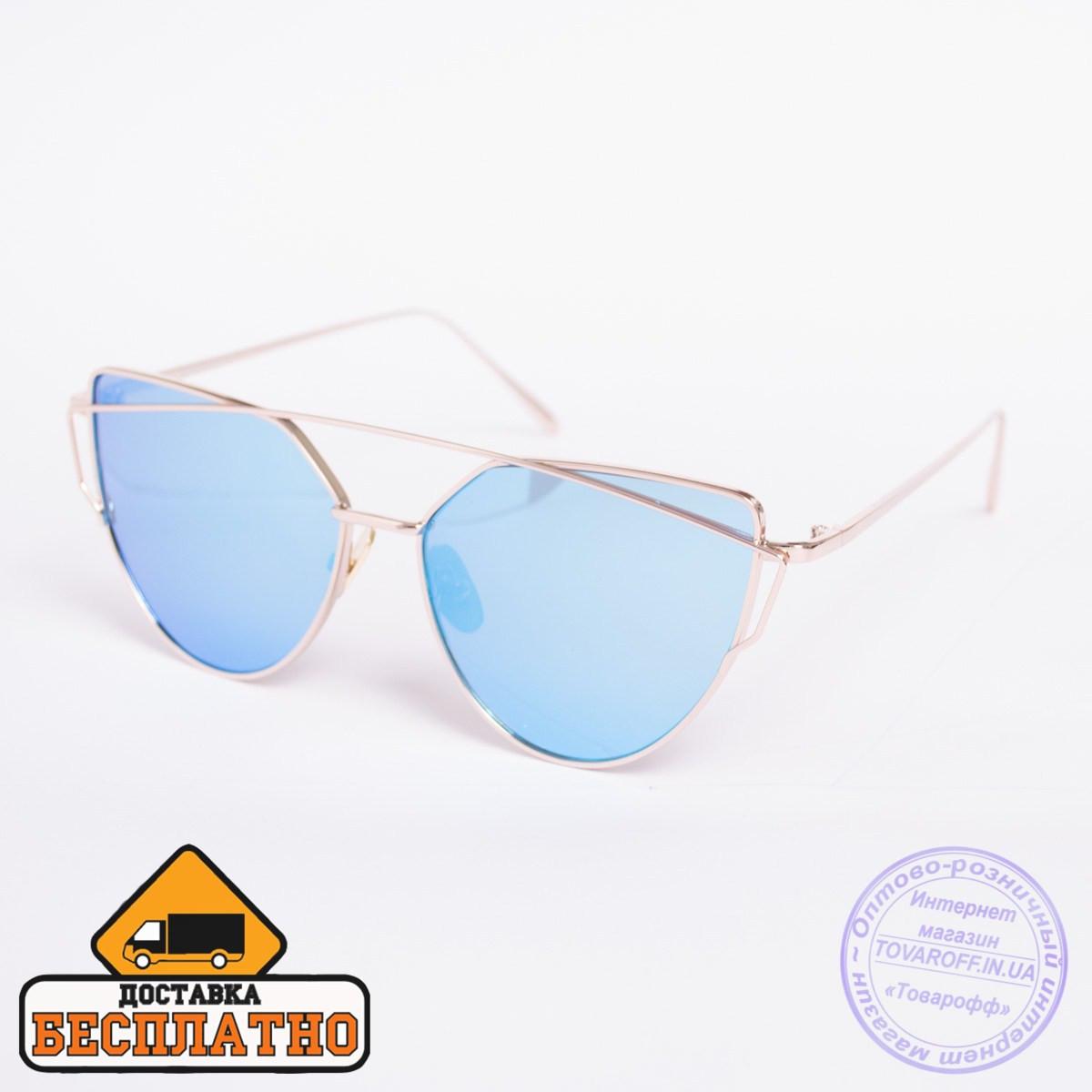 Солнцезащитные очки золотистые - 30121